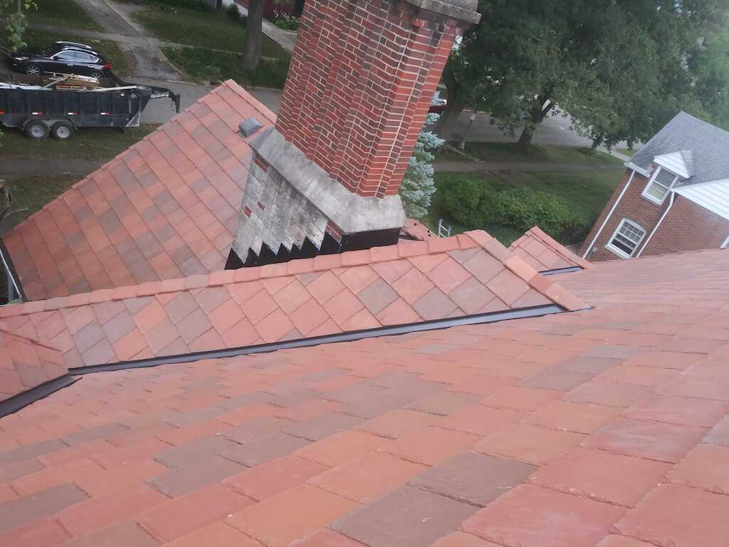 davinci synthetic slate roof in champaign il